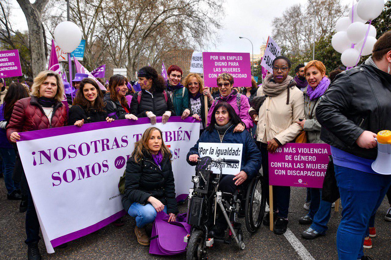 manifestación 8 de marzo en Madrid