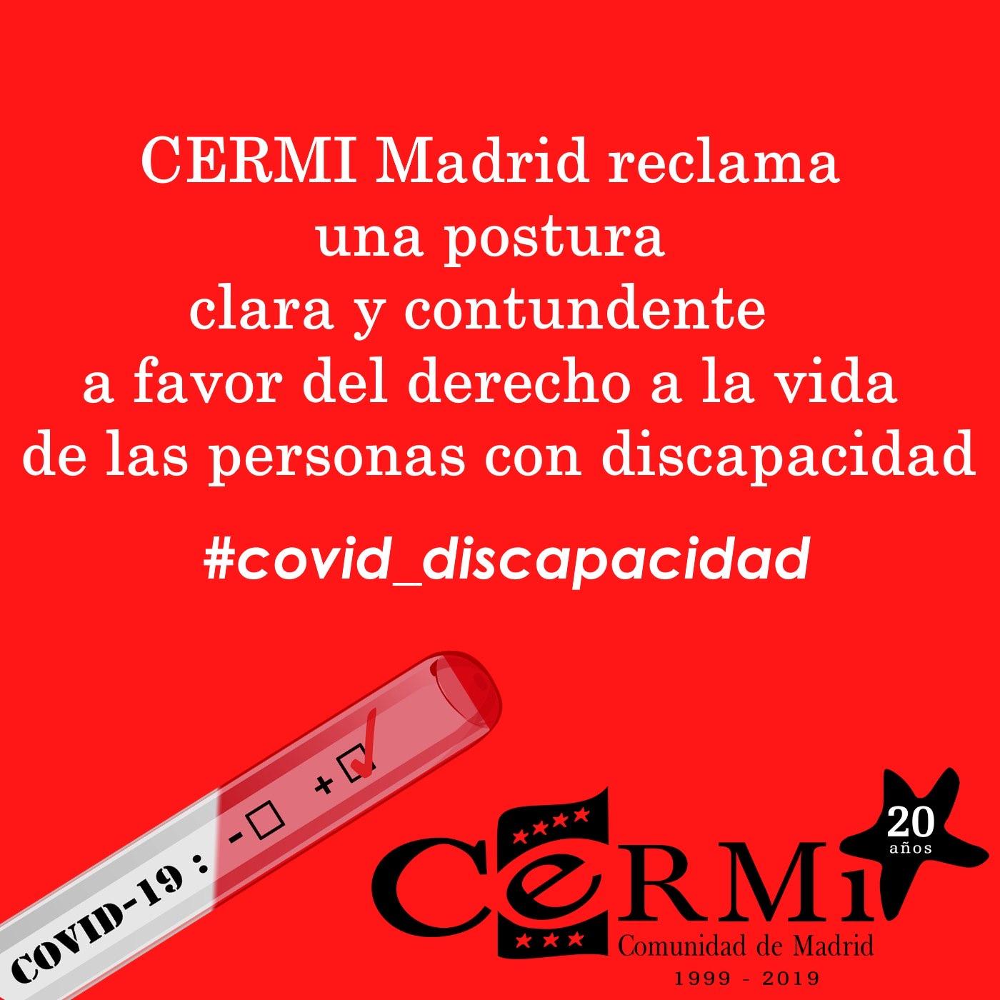 COVID19 discapacidad