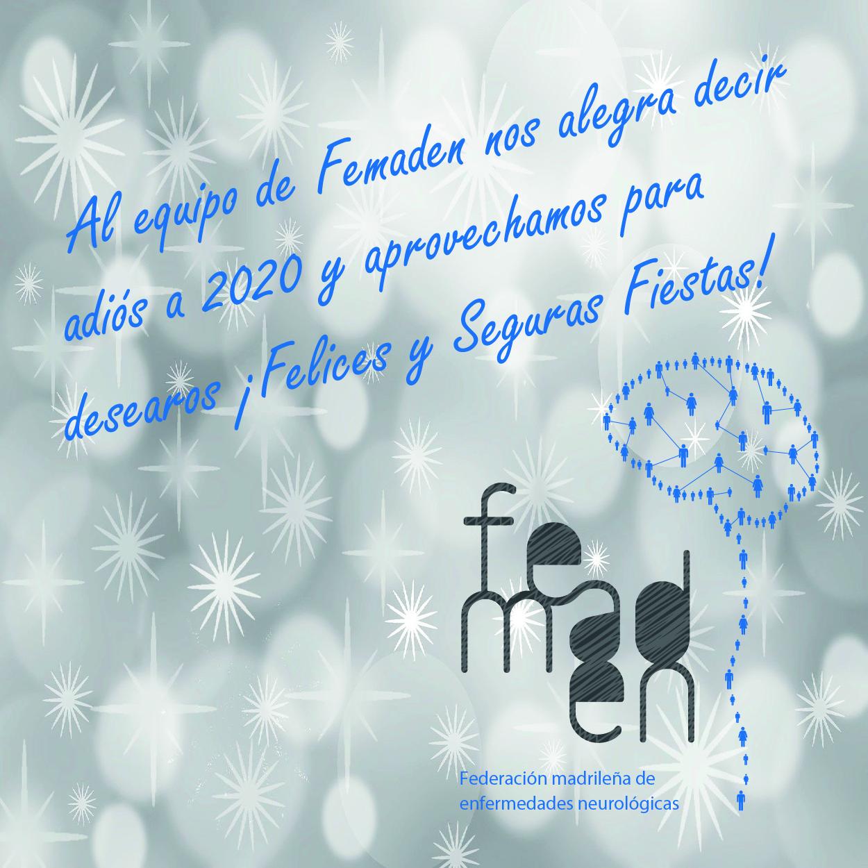 Felicitacion Navidad Femaden 2020